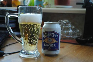 Ohlsson`s beer