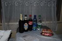 Пиво в купе поезда Москва-Минск
