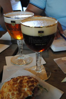 Maredsous brune & triple