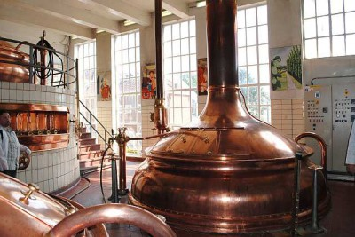Варочный порядок на Huyghe Brewery