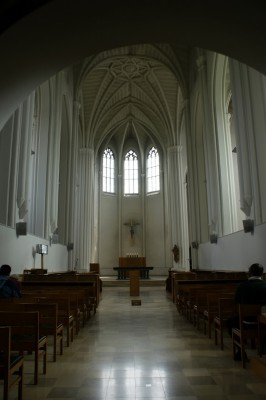 Поле возле монастыря