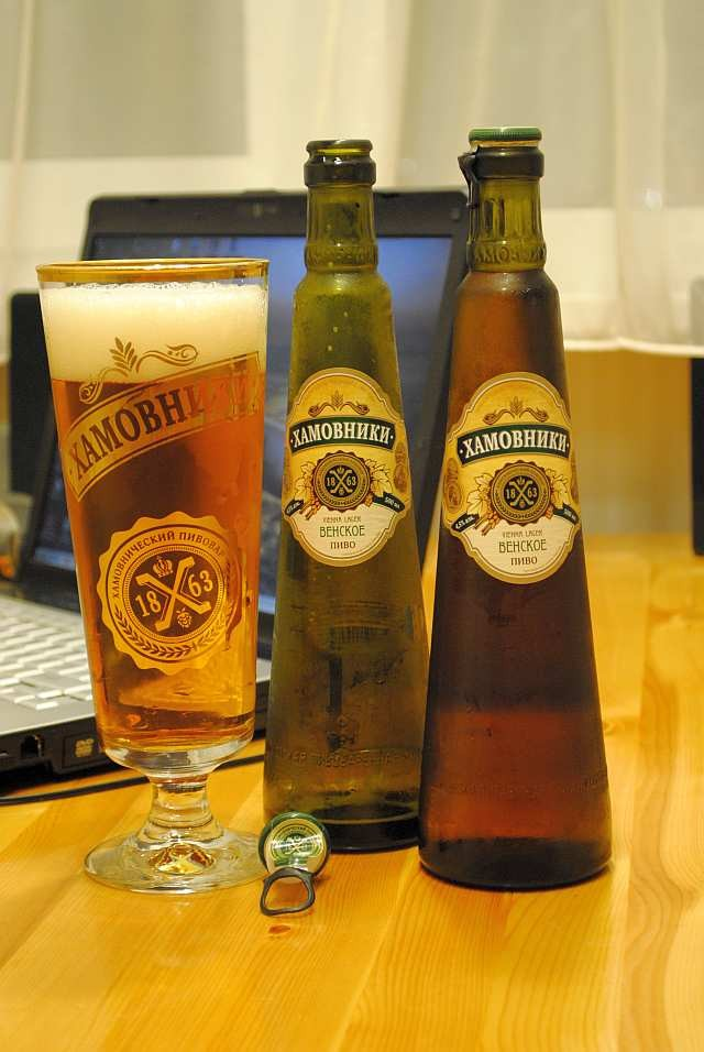 Пиво Хамовники Венское