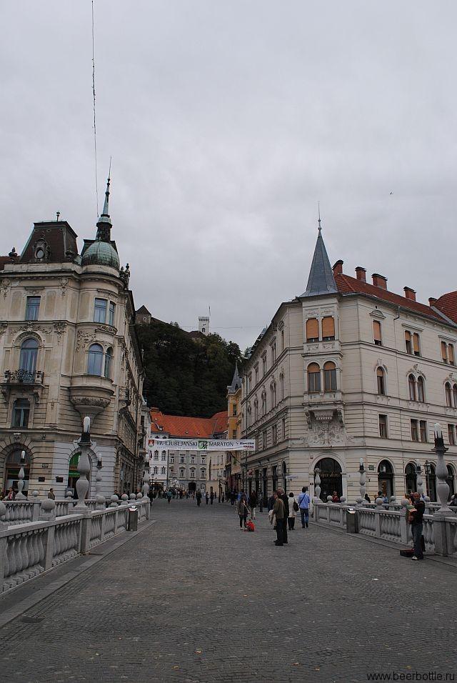 Вид Любляны.
