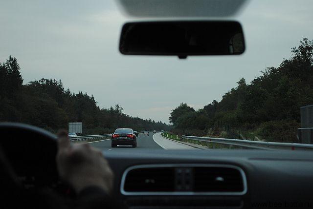 Час пик на дорогах Словении
