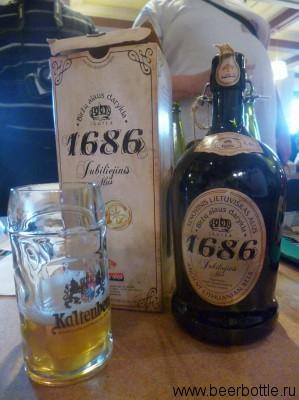 Пиво Biržų 1686