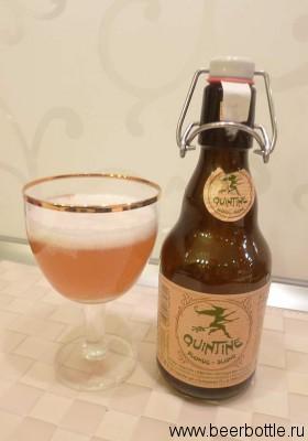 Пиво Qintine blonde