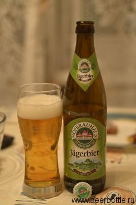 Пиво Hofbrauhaus Jägerbier Export Hell