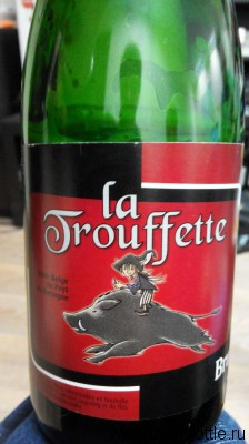 Пиво La Trouffette brune