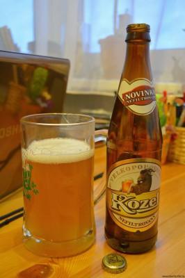 Пиво Велкопоповицкий Козел нефильтрованное