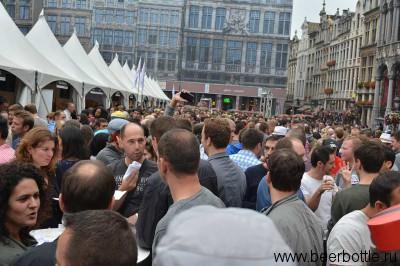 Пивно фествиаль в Брюсселе