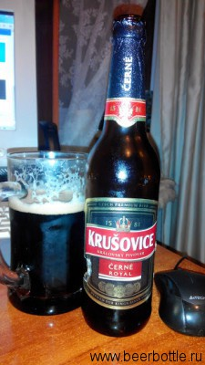 Krusovice Cerne Royal