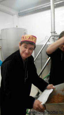 Александр Иджон выгребает дробину