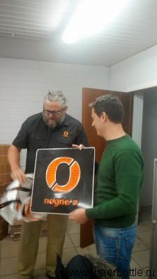 Дмитрий Тушев и магнитик на холодильник