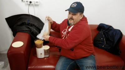 Портер мелет горчицу