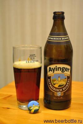 Пиво Ayinger Altbeirisch Dunkel