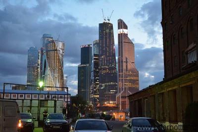 Вид на Москва-Сити
