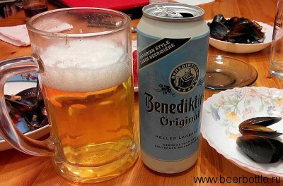 Пиво Benediktiner Hell