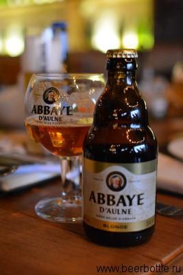 Пиво Abbaye d'Aulne Blonde