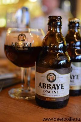 Пиво Abbaye d'Aulne Brune