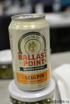 Пиво Ballast Point Sculpin IPA