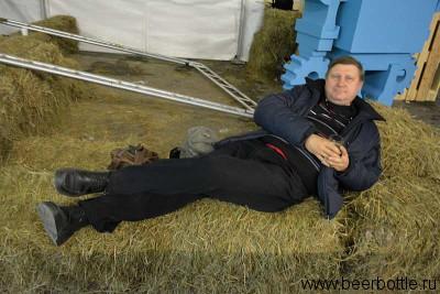 Паша Егоров отдыхает