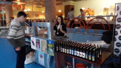 Крафтовое пиво на фестивале