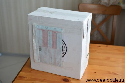 Коробка с пивом