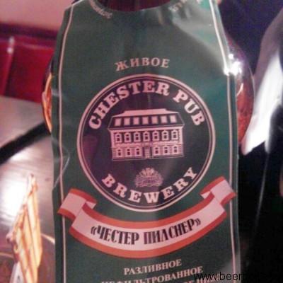 Пиво Chester Pub Pilsner