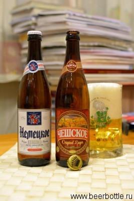Пиво Чешская и Немецкая Варница