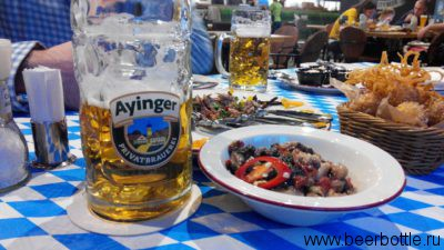 Пиво Ayinger Maibock.