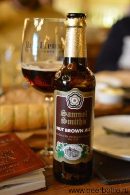 Пиво Samuel Smith Nut Brown Ale
