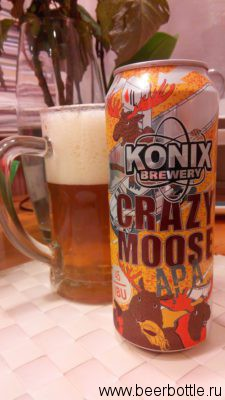 Пиво Crazy Moose APA