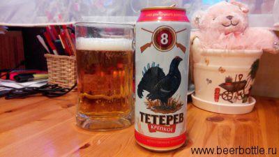 Пиво Тетерев крепкое