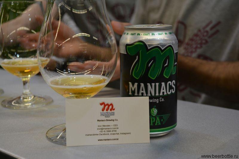 Пиво Maniacs Brewing Co.
