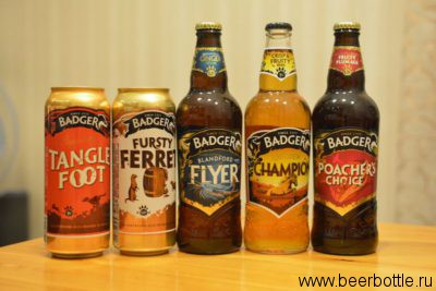 Пиво от Badger Ales (Hall & Woodhouse)