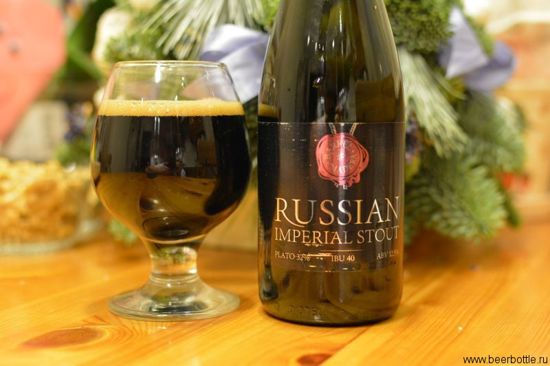 Пиво KONIX Russian Imperial Stout barrel Madera