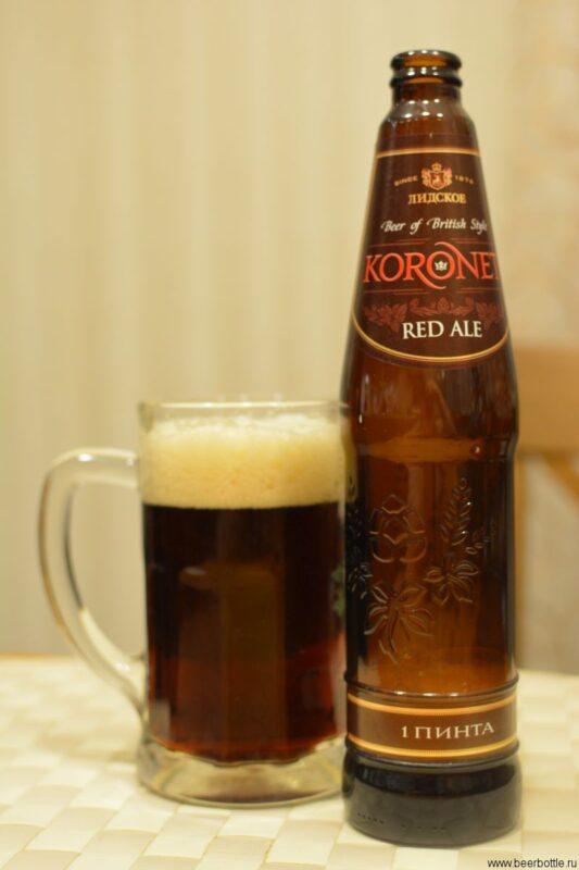 Пиво Лидское Koronet Red Ale