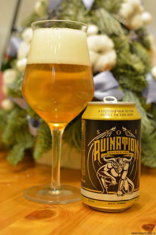 Пиво Stone Ruination Double IPA