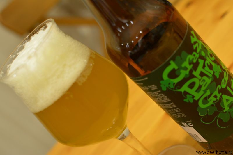 Пиво Crazy Patrick Green Ale