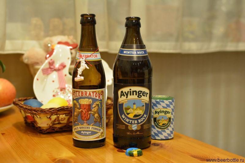 Ayinger Winter Bock и Celebrator