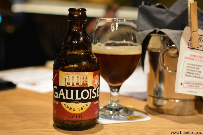 Пиво Gauloise Brune