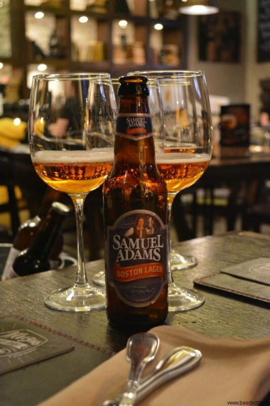 Пиво Samuel Adams Boston Lager