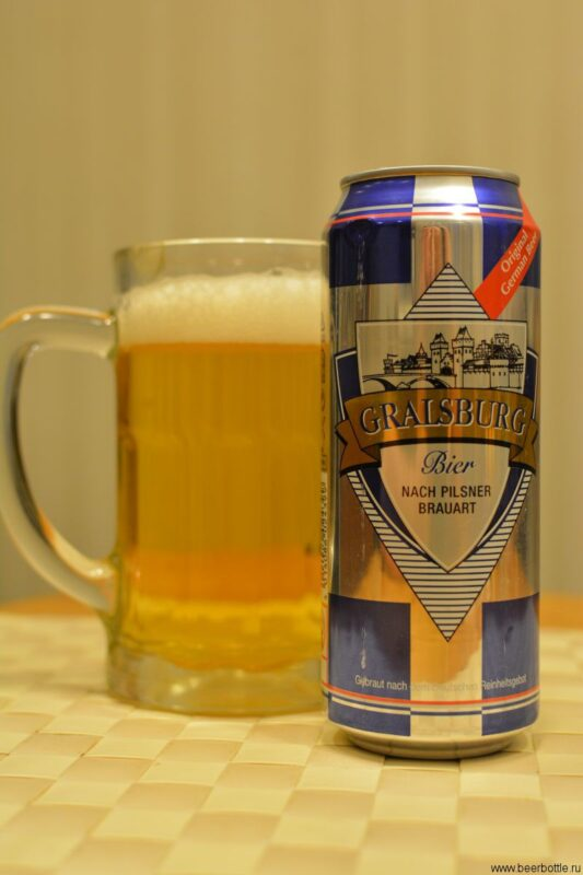 Пиво Gralsburg Pilsner