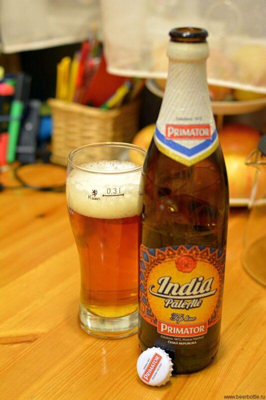 пиво Primator IPA