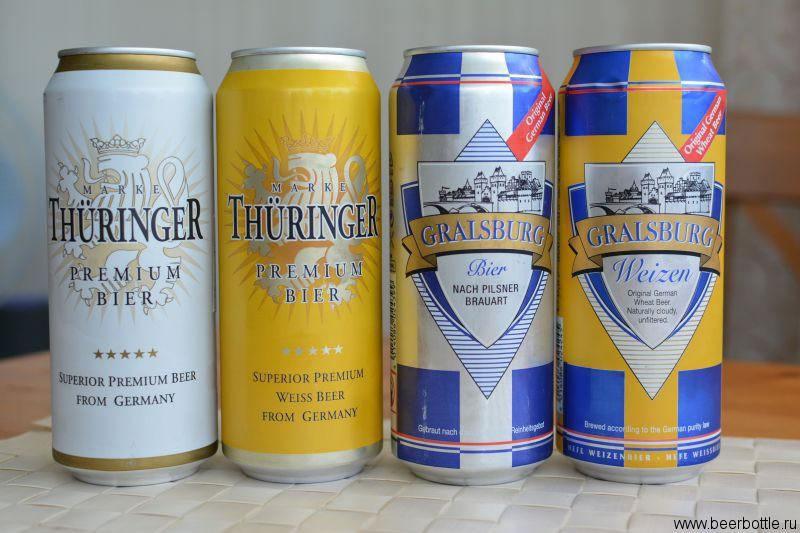 Пиво Thuringer и Gralsburg