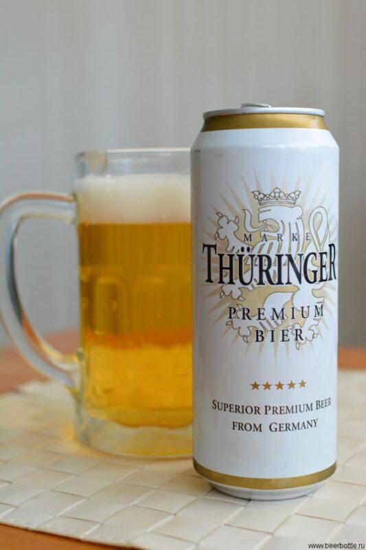 Пиво Thüringer Premium Bier
