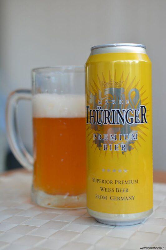 Пиво Thüringer Premium Weissbier
