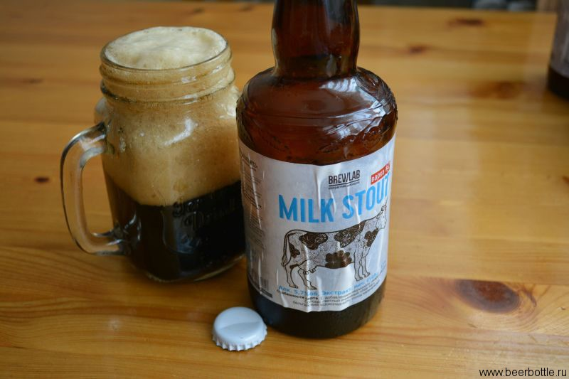 Пиво BrewLab Milk Stout