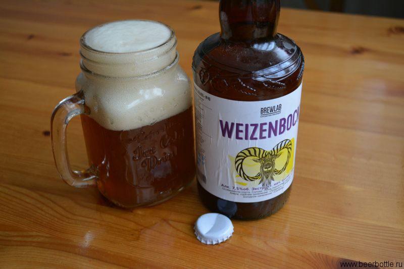 Пиво BrewLab Weizenbock