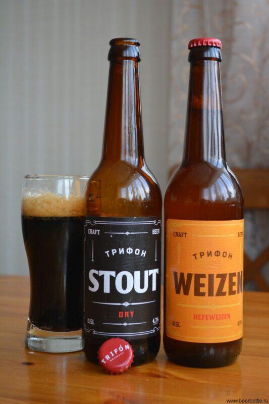 Пиво Трифон Стаут